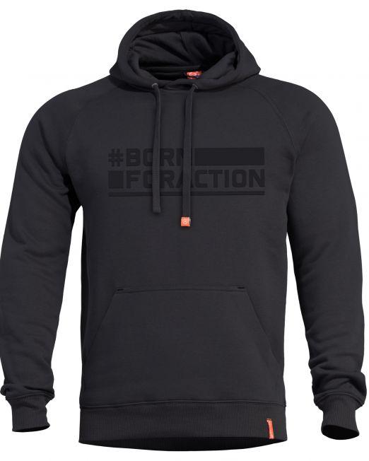 mplouza pentagon phaeton hood sweater black k09021-ba-01