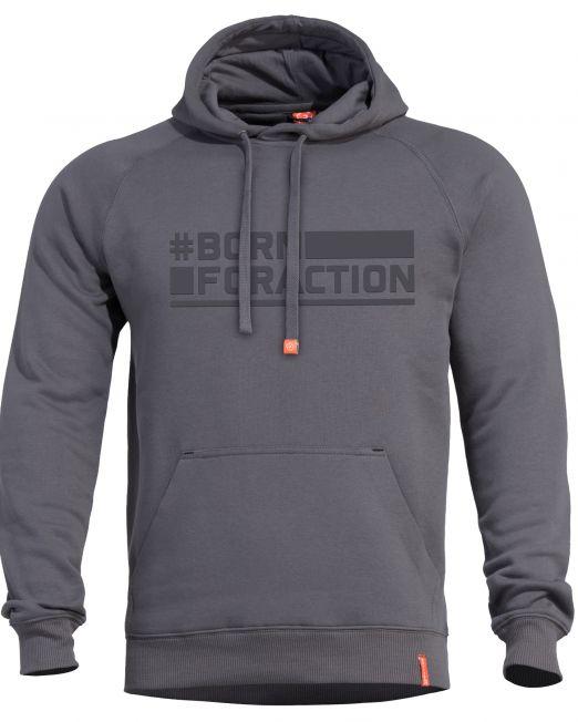 mplouza pentagon phaeton hood sweater grey k09021-BA-17