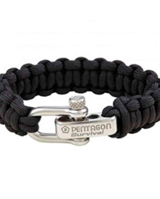 vraxioli epiviwshs tactical survival bracelet pentagon k25043-01