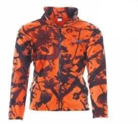 zaketa dispan fleece portokali camo