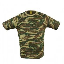 kontomaniko pentagon flatlock t-shirt K09004-CAMO-56
