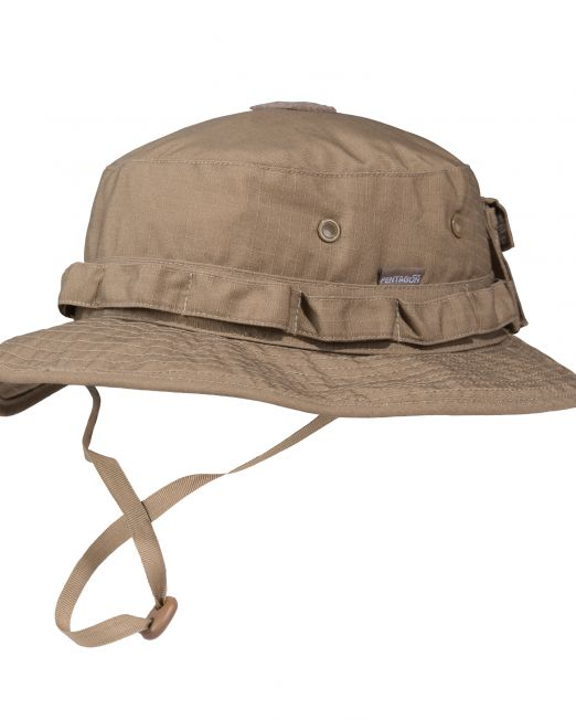 kapelo pentagon jungle hat k13014-03 coyote