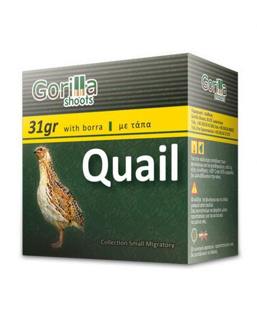 fusiggia gorilla quail 31gr