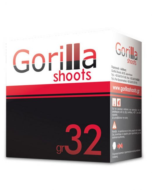 fusiggia gorilla shot red 32gr
