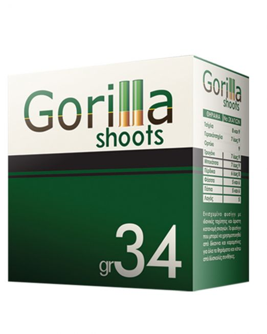 fusiggia gorilla shots 34gr