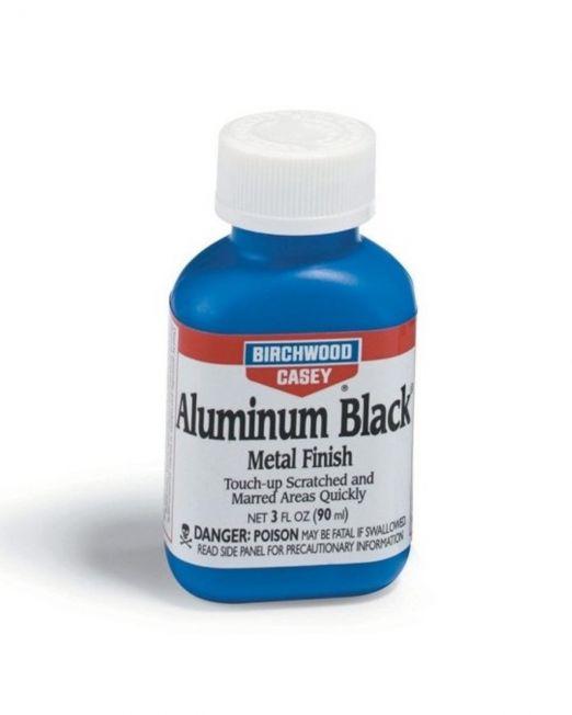 Aluminum Black® vafh alouminiou se mayro metalliko finirisma.