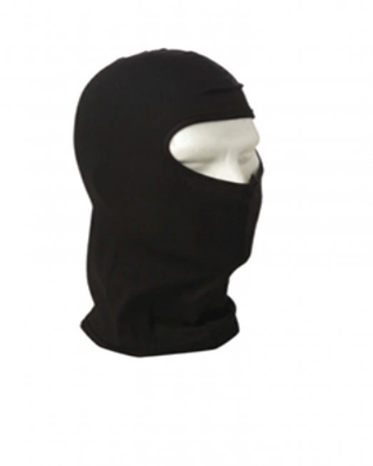 balaclava m2051-blk-long black va