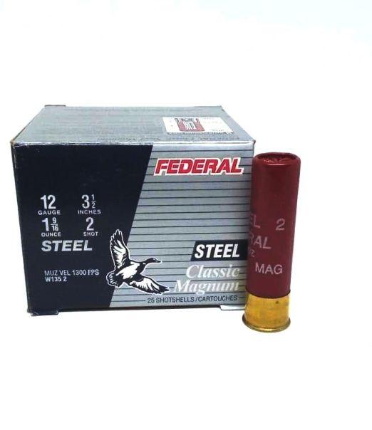 "federal steel classic magnum w135-2 3 1/2"""