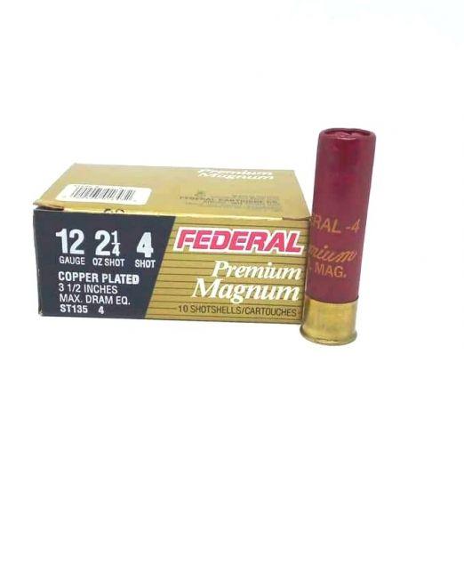 """federal premium magnum cal12 3 1/2"""""""