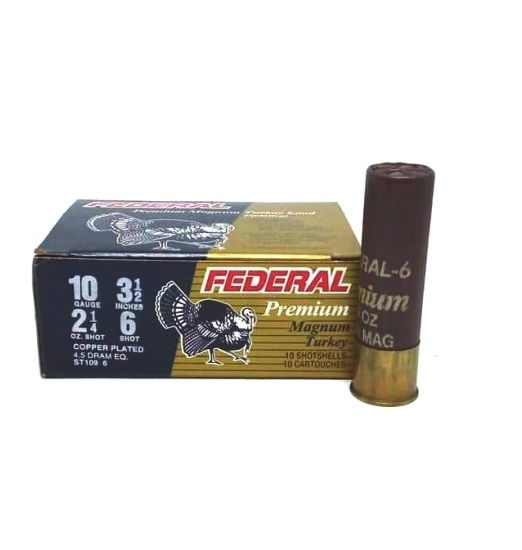 federal premium magnum turkey cal10 3 1/2""
