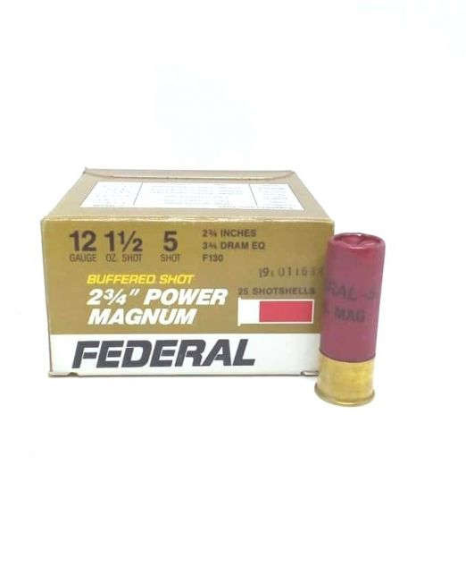 federal power magnum 2 34 cal12 f130