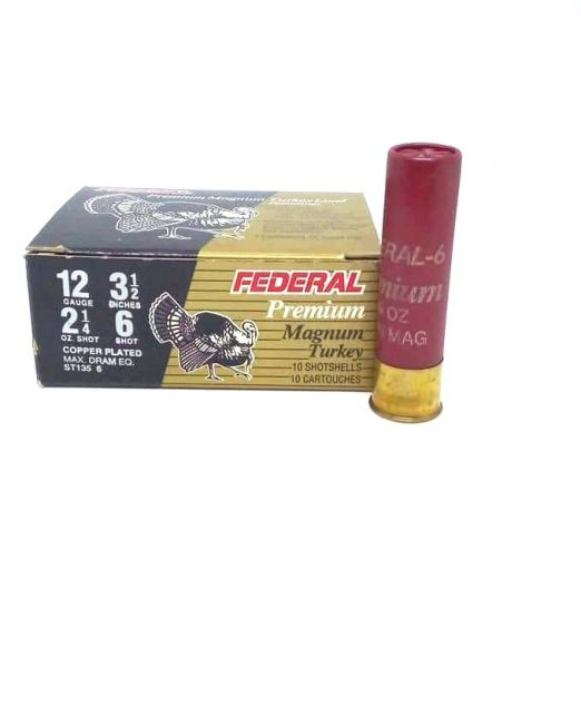 federal premium magnum turkey 12cal 3 1/2""