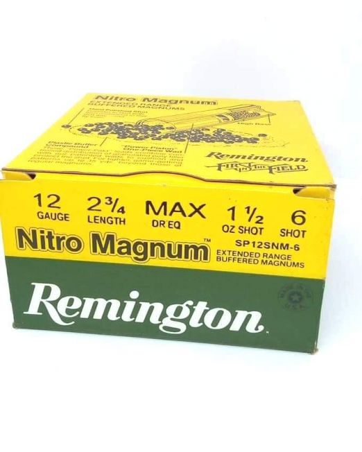 remington nitro magnum 42.5gr sp12snm