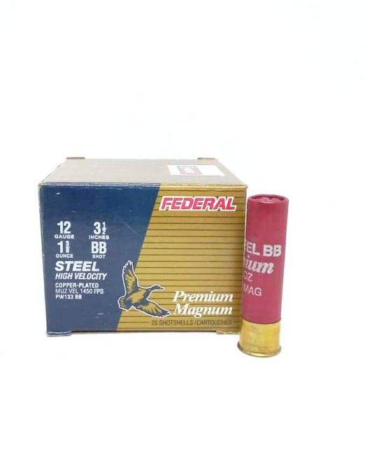 "federal premium magnum 3 1/2"" pw133-bb"