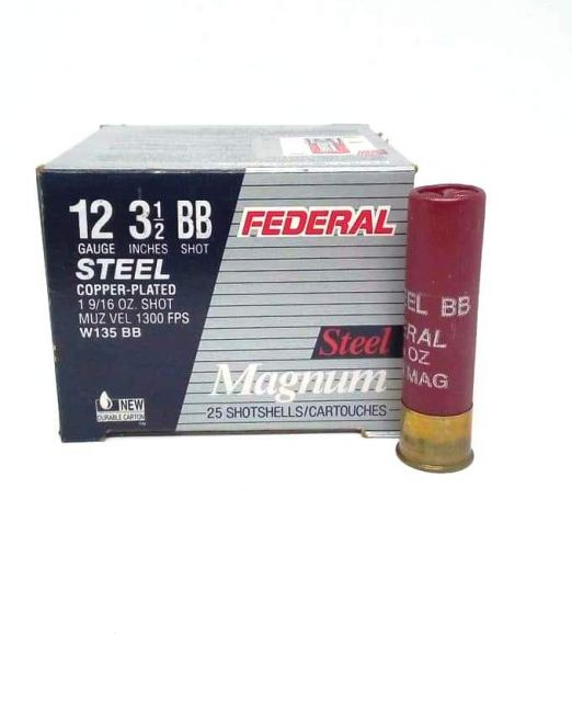 federal steel magnum 12cal w135-bb 3 1/2""