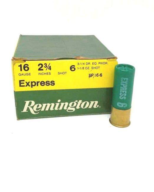 remington express 16cal 32gr sp166