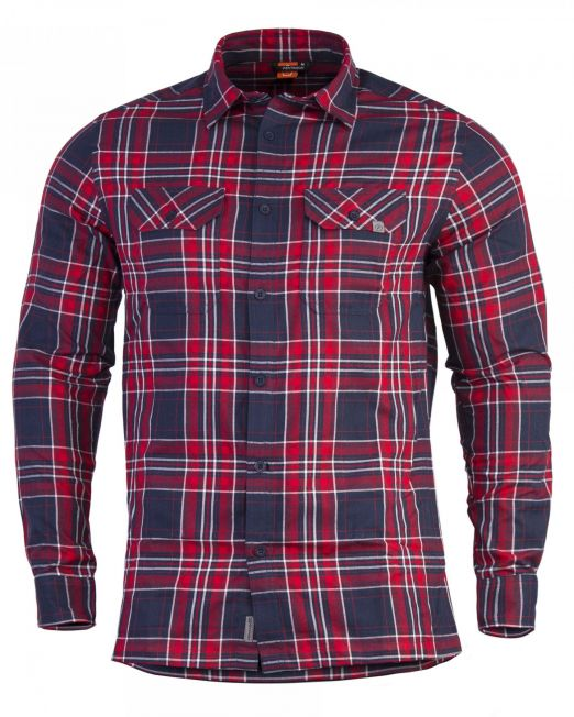 poykamiso pentagon drifter flannel k02022-07rc