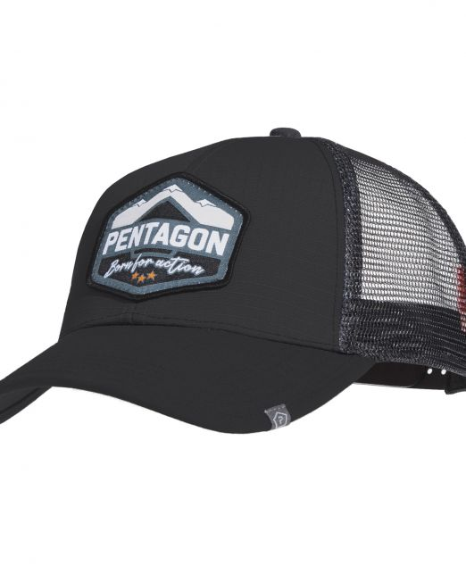 pentagon kapelo k13048 era trucker ba black